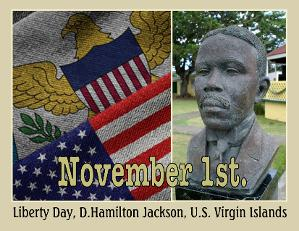 the virgin islands day in Liberty